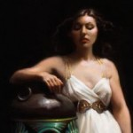 Isabella and the Pot of Basil, oil on linen, 30 x 40, 2009
